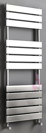 KIRBY SEBASTIAN SAHARA CHROME BATHROOM FLAT PANEL TOWEL RAIL/WARMER, SAH1200450F