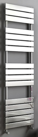 KIRBY SEBASTIAN SAHARA CHROME BATHROOM FLAT PANEL TOWEL RAIL/WARMER, SAH1600600F