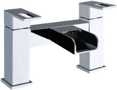 KIRBY SEBASTIAN EVOKE WATERFALL CHROME BATH FILLER TAP, EVO112BT