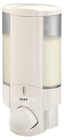 BETTER LIVING PRODUCTS AVIVA 1 WHITE SINGLE DISPENSER, 76150