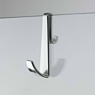 HUDSON REED CHROME FRAMELESS ENCLOSURE HOOK, ACC003