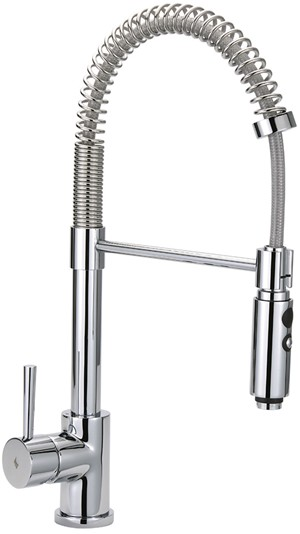 TRE MERCATI KITCHEN CAPPUCCINO CHROME PROFESSIONAL SINK MIXER TAP, Evo-091