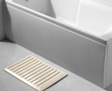 CARRON CONCORD CARRONITE WHITE 1700mm x 540mm FRONT BATH PANEL, 23.1381