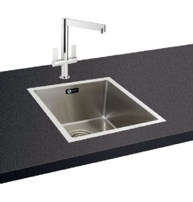 CARRON PHOENIX DECA 100 INSET POLISHED STAINLESS STEEL SINK, 100