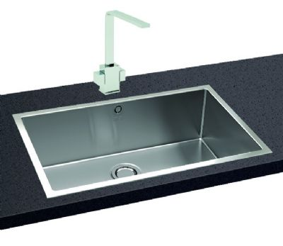 CARRON PHOENIX DECA XL INSET POLISHED STAINLESS STEEL SINK L/H, XL