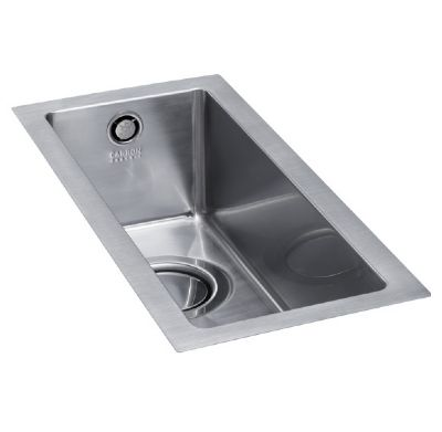 CARRON PHOENIX DECA 50 INSET POLISHED STAINLESS STEEL SINK, 50