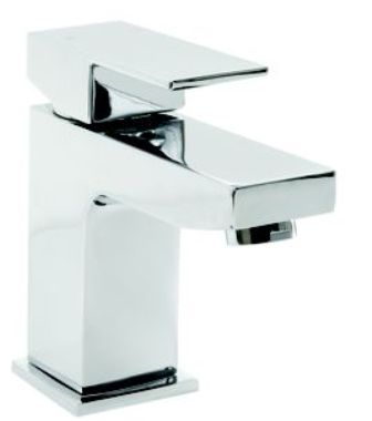 CLEARANCE CASSELLIE FORM SINGLE LEVER CHROME BATHROOM MONO BASIN MIXER TAP, FRM001