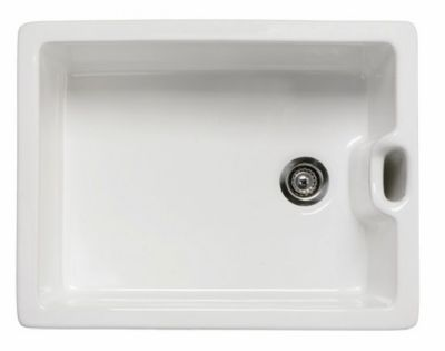 images/RAK GOURMET SINK 8 - BELFAST STYLE with WEIR OVERFLOW WHITE SINGLE BOWL CERAMIC SINK, GOSINK8