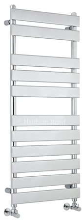 HUDSON REED PIAZZA (11 BAR) CHROME BATHROOM FLAT PANEL TOWEL WARMER, HL396