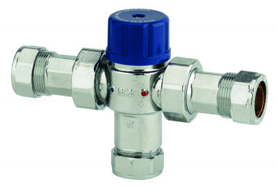 THOMAS DUDLEY 15mm THERMOSTATIC MIXING VALVE, 324551