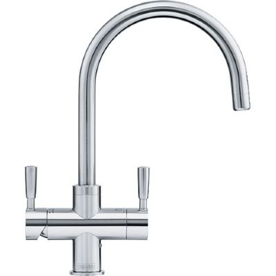 FRANKE OMNI STAINLESS STEEL 4 IN 1 HOT & COLD BOILING TAP, 119.0380.520