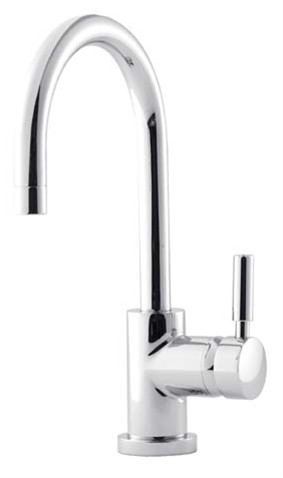 HUDSON REED KITCHEN CHROME CONTEMPORARY MONO SINGLE LEVER SIDE ACTION SINK MIXER TAP, PN380