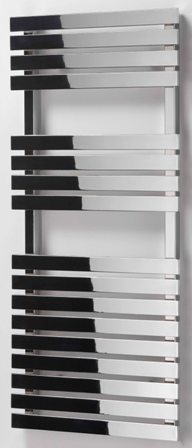 ULTRAHEAT POPLAR BLACK BATHROOM CONTEMPORARY FLAT PANELED TOWEL WARMER, 5P017B