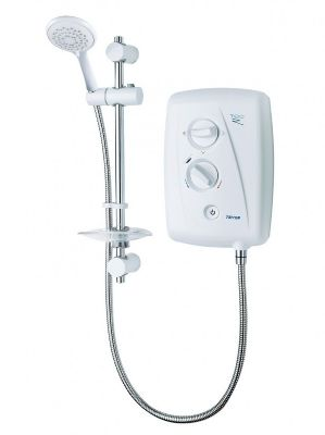 SPECIAL OFFER TRITON T80Z FAST FIX WHITE & CHROME 10.5KW ELECTRIC SHOWER, AFS/SP8001ZFF