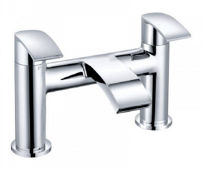 CLEARANCE CASSELLIE ALIA CHROME BATHROOM BATH FILLER TAP, ALI003
