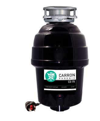 CARRON PHOENIX CARRONADE ELITE WD750+ 3/4 HP CONTINUOUS-FEED WASTE DISPOSAL, CE-75