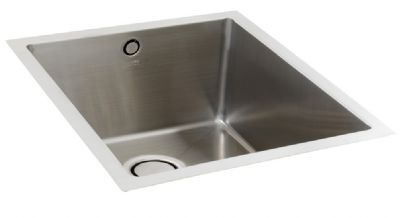 CARRON PHOENIX DECA 105 INSET POLISHED STAINLESS STEEL SINK, 105