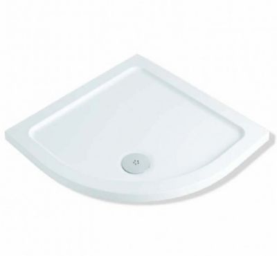 CLEARANCE MX GROUP DUCOLITE FLAT TOP 900mm x 900mm x 45mm QUADRANT SHOWER TRAY, XNO