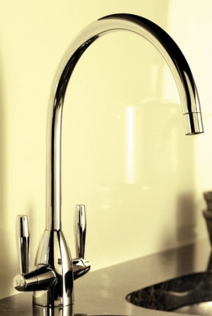 images/CLEARANCE TRE MERCATI KITCHEN ENZO CHROME CRUCIFORM MONO SINK MIXER TAP, 68013