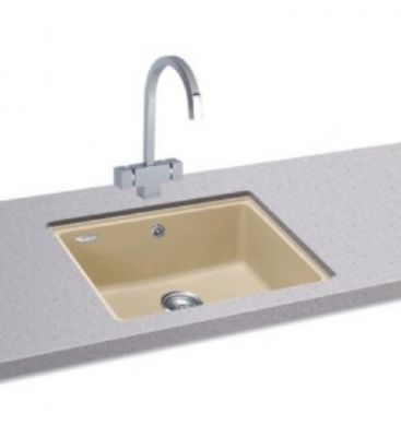 CARRON PHOENIX FIJI 100 UNDERMOUNTED CHAMPAGNE GRANITE SINK, 100