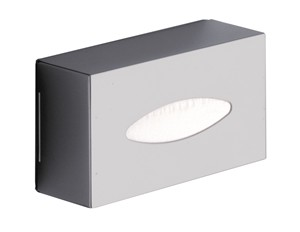 BATHROOM ORIGINS GEDY POLISHED STAINLESS STEEL BATHROOM TISSUE BOX, 2308-13