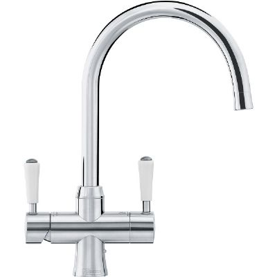 FRANKE OMNI CLASSIC STAINLESS STEEL 4 IN 1 HOT & COLD BOILING TAP, 119.0438.426