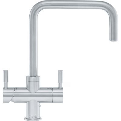 FRANKE OMNI CONTEMPORARY STAINLESS STEEL 4 IN 1 HOT & COLD BOILING TAP, 119.0513.223