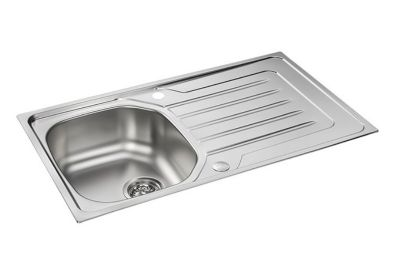 images/CARRON PHOENIX ONDA 90 INSET POLISHED STAINLESS STEEL SINK, 90