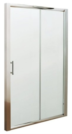 ULTRA PREMIER BATHROOM COLLECTION PACIFIC POLISHED CHROME 1 SLIDING SHOWER DOOR 1000mm, AQSL10