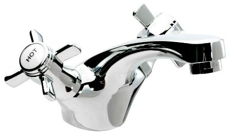 CASSELLIE TIME CHROME TRADITIONAL MONO BASIN MIXER TAP, TIM003