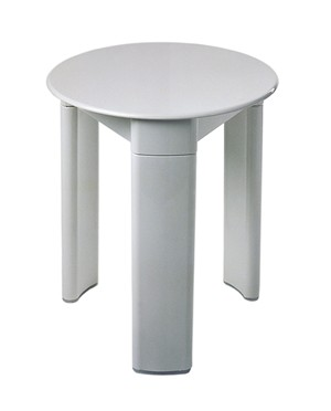 BATHROOM ORIGINS GEDY TRIO WHITE STOOL, 2072-02
