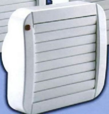 VECTAIRE 'A' ECO MODULAR WHITE AUTOMATIC, TIMER 10cm BATHROOM/KITCHEN AXIAL EXTRACTOR FAN, ECO-A10/4AT